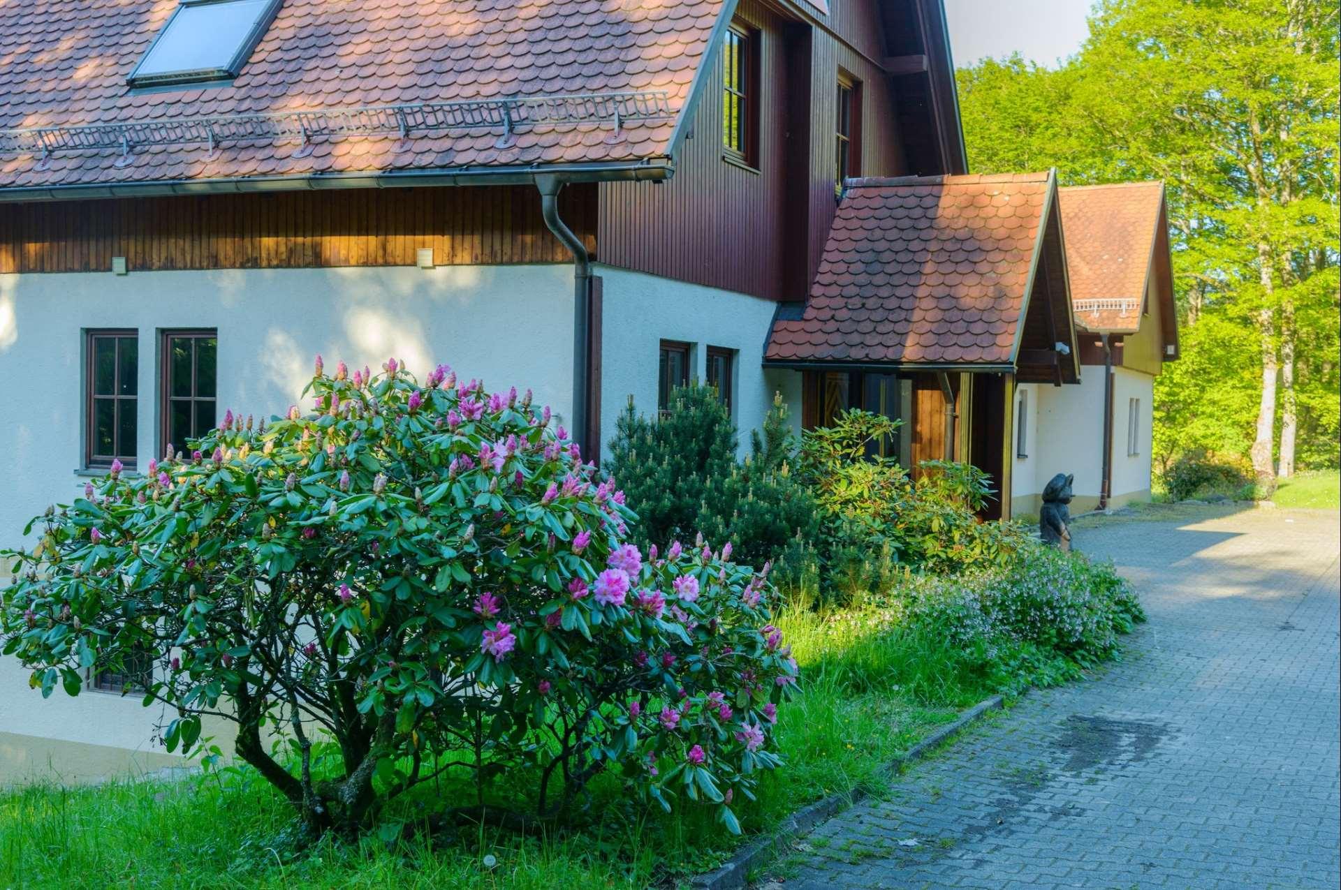Eingang des Kolpinghaus Weisenbach